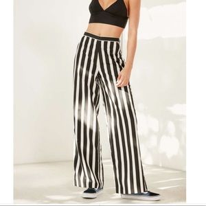 Pants - Vetiver Black & White Striped Pants - 2
